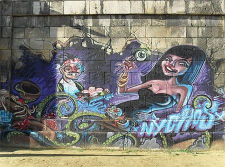 Street Art à Vienne © Gulwenn Torrebenn
