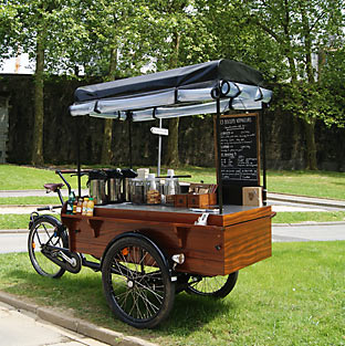 Les Biscuits Voyageurs (tricycle)