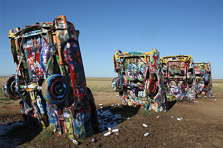 Cadillac ranch © lockhart