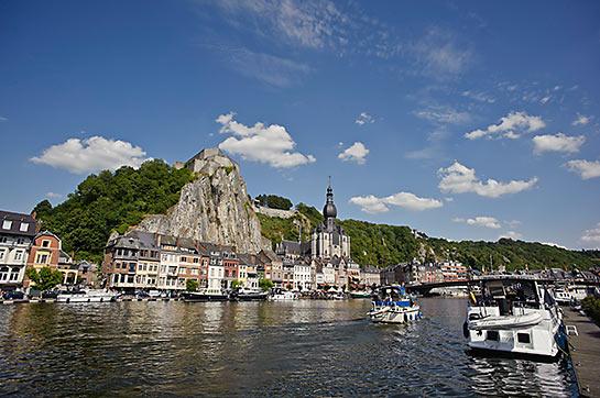 La Meuse à Dinant © WBT - J.P. Remy