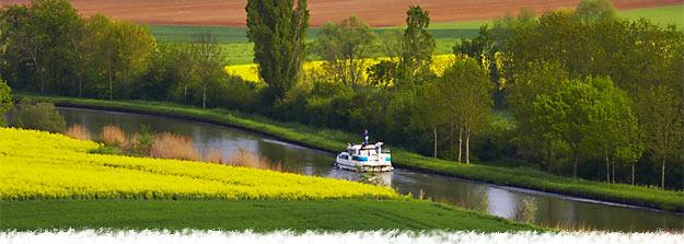 Le tourisme fluvial en France : © Locaboat Holidays