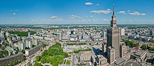 Les plus étonnantes tours du monde. Photo : Palac Kultury i Nauki  © Pawel Jagiello