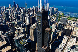 © Skydeck Chicago at Willis Tower