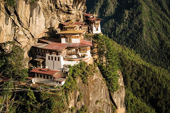 Monastère de Taktsang © Jocelyn Chavy