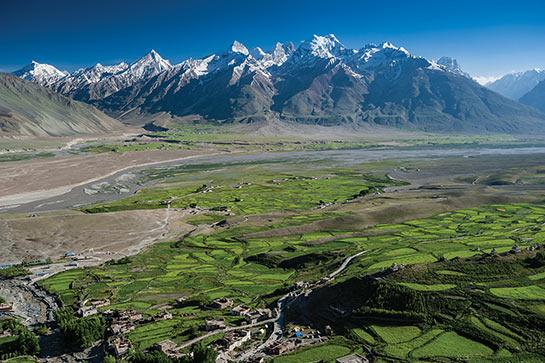 Padum, la vallée oasis au cœur du Zanskar © Jocelyn Chavy