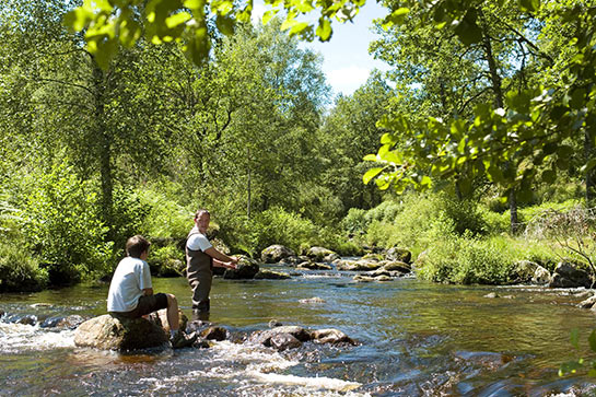 Pêche en Corrèze © Agence Marco-Polo / CRT Limousin