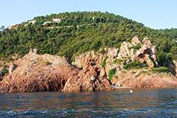 Pointe de l'Aiguille © Office de Tourisme de Théoule-sur-Mer