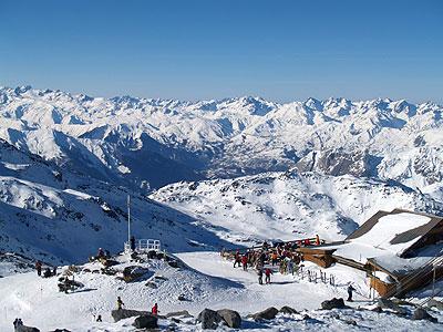 Au sommet des Alpes