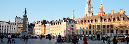 Lille la belle des flandres id es week end lille nord for Lille capitale des flandres