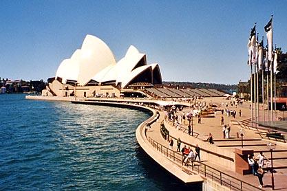 Opéra de Sydney. Nouvelle-Galles du Sud.