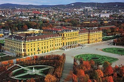 Le palais Schönbrunn à Vienne.