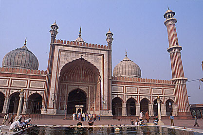 Delhi. Jama Masjid.