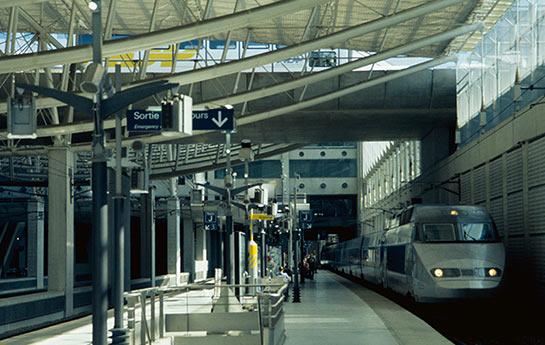 TGV © Aéroports de Paris