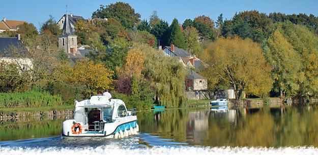 Le tourisme fluvial - Photo : © Nicols