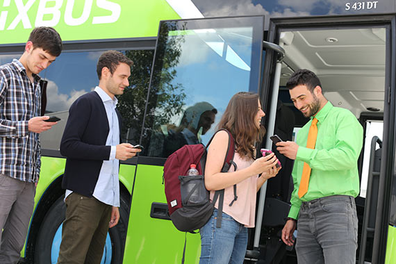 Voyager en bus en France. Photo : Flixbus